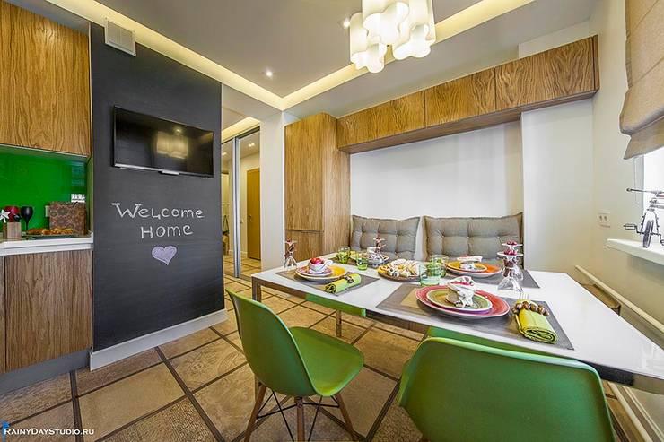 ДЕТАЛИ КВАРТИРЫ НА ОСЕННЕМ БУЛЬВАРЕ: Кухни в . Автор – Zi-design Interiors