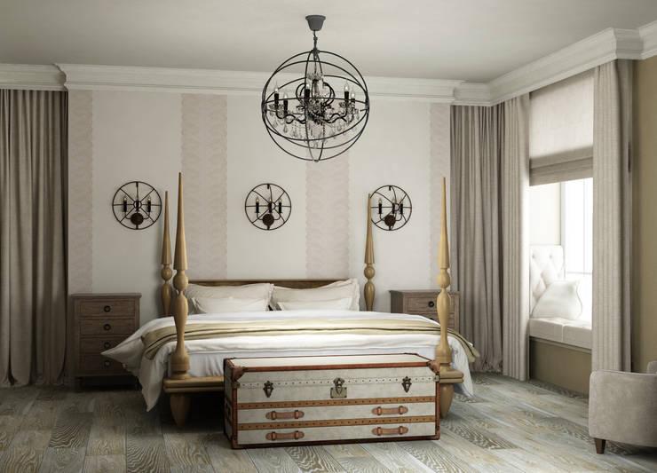 Bedroom by Eclectic DesignStudio, Country