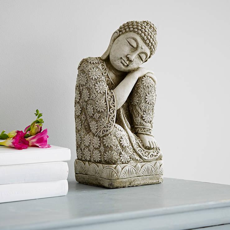 Stone Buddha Statue:  Garden  by rigby & mac
