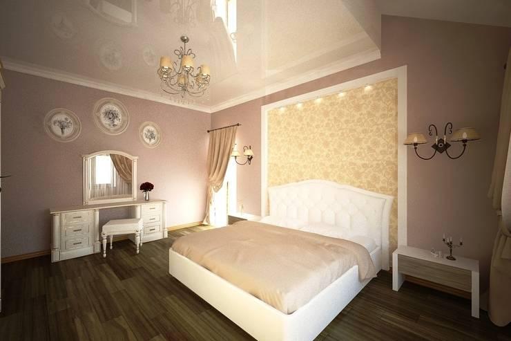 غرفة نوم تنفيذ Андреева Валентина