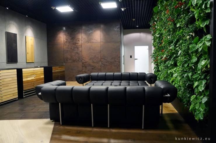 SHOWROOM BARLINEK S.A.: styl , w kategorii  zaprojektowany przez Kunkiewicz Architekci