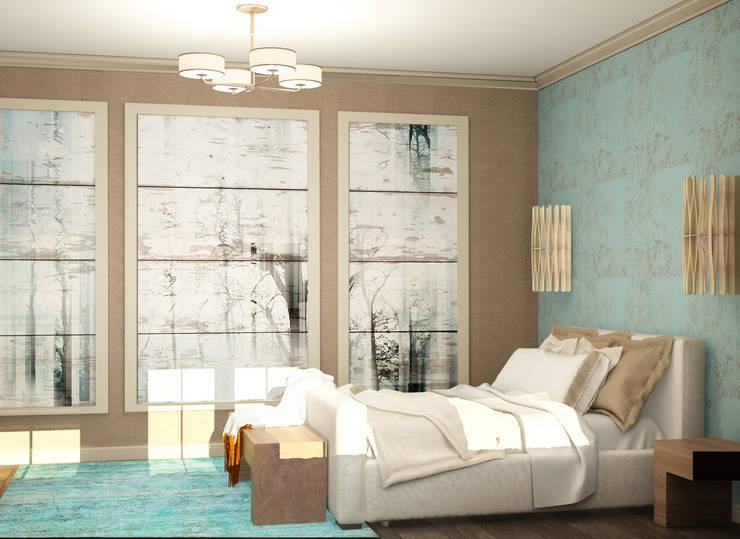 спальня: Спальни в . Автор – Eclectic DesignStudio