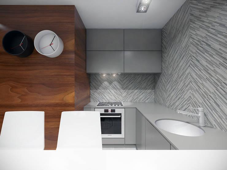 Kuchnia: styl , w kategorii Łazienka zaprojektowany przez HUK atelier,
