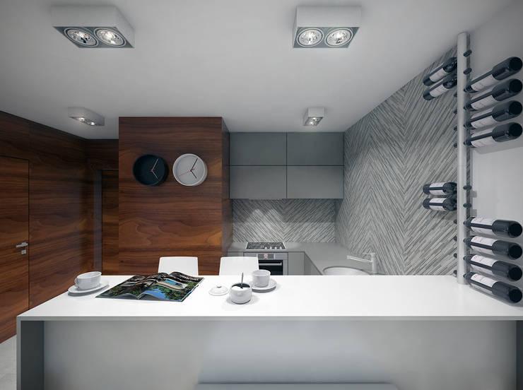 Aneks kuchenny: styl , w kategorii Łazienka zaprojektowany przez HUK atelier