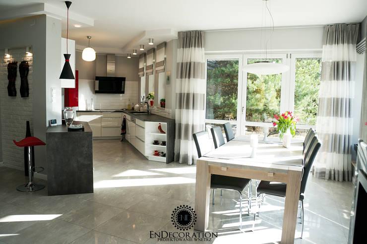 Dom pod Białymstokiem. : styl , w kategorii Kuchnia zaprojektowany przez EnDecoration