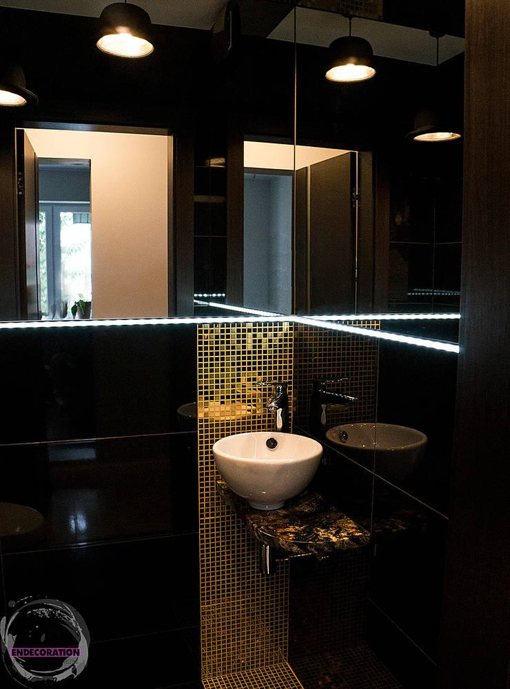 Dom pod Białymstokiem. : styl , w kategorii Łazienka zaprojektowany przez EnDecoration
