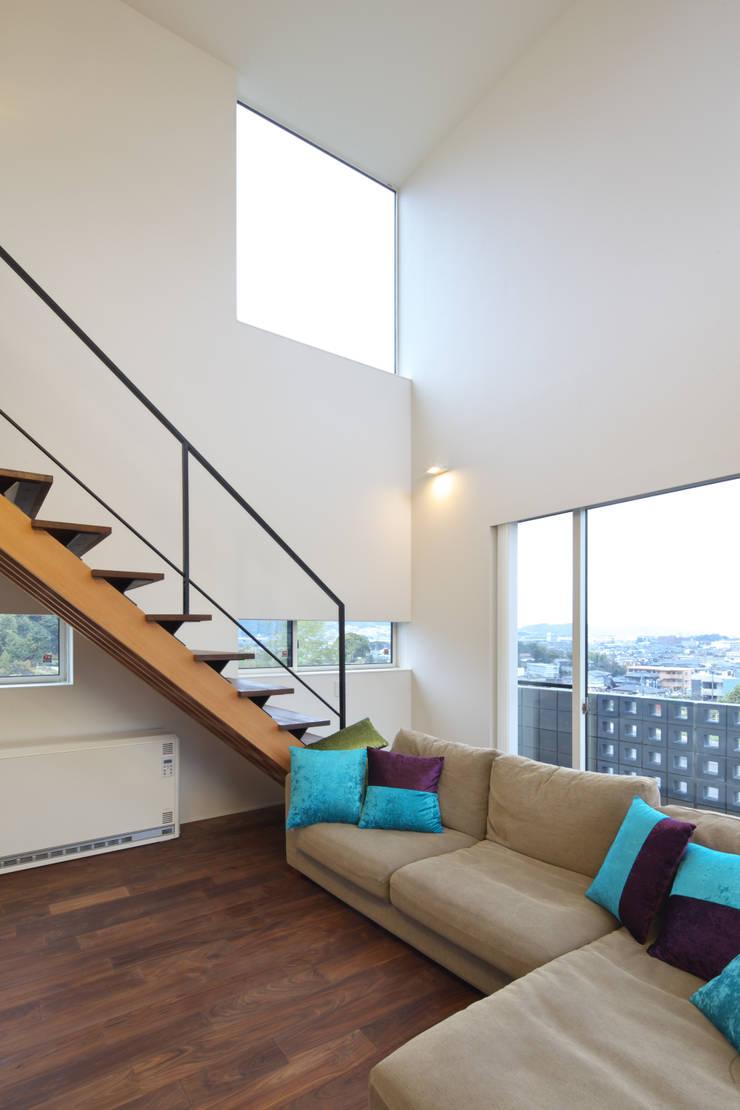 O  House: artect design - アルテクト デザインが手掛けたリビングです。,オリジナル