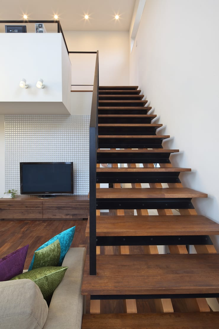 O  House: artect design - アルテクト デザインが手掛けた廊下 & 玄関です。
