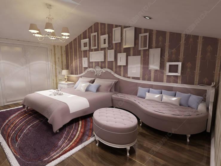 Fabbrica Mobilya – T.H House:  tarz Yatak Odası