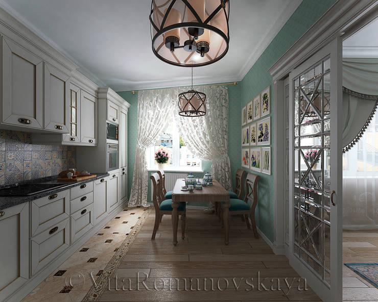 Nhà bếp by студия Виталии Романовской