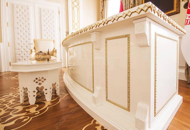 Fabbrica Mobilya – Özel Makam Odası:  tarz İç Dekorasyon