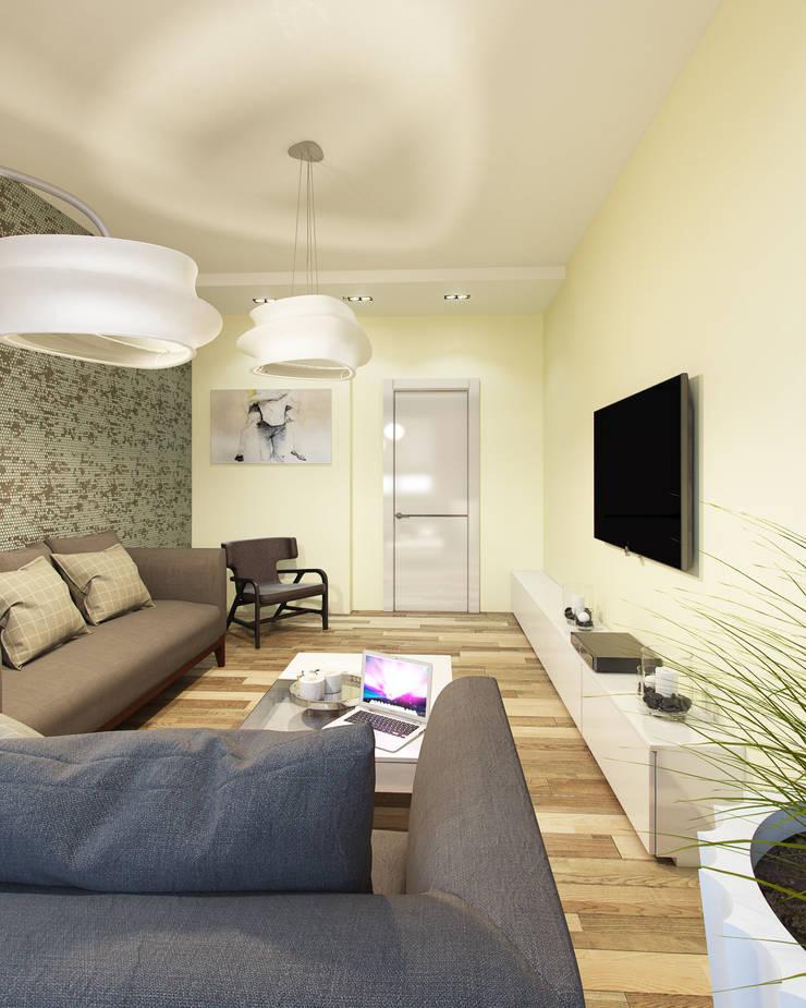 гостиная: Гостиная в . Автор – Eclectic DesignStudio