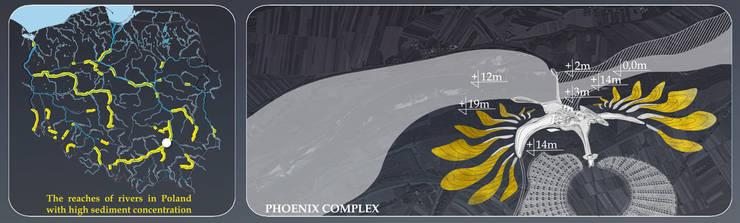 PHOENIX COMPLEX DESIGN image4: styl , w kategorii  zaprojektowany przez Filip Kurzewski