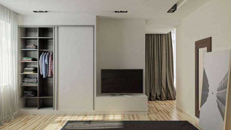 Спальни в . Автор – Kristina Petraitis Design House