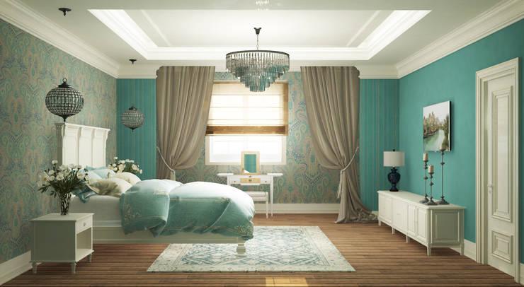 Schlafzimmer von Eclectic DesignStudio