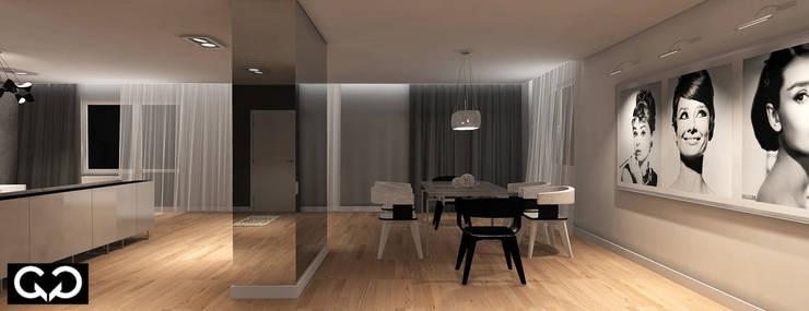 Apartament: styl , w kategorii  zaprojektowany przez Studio QQ