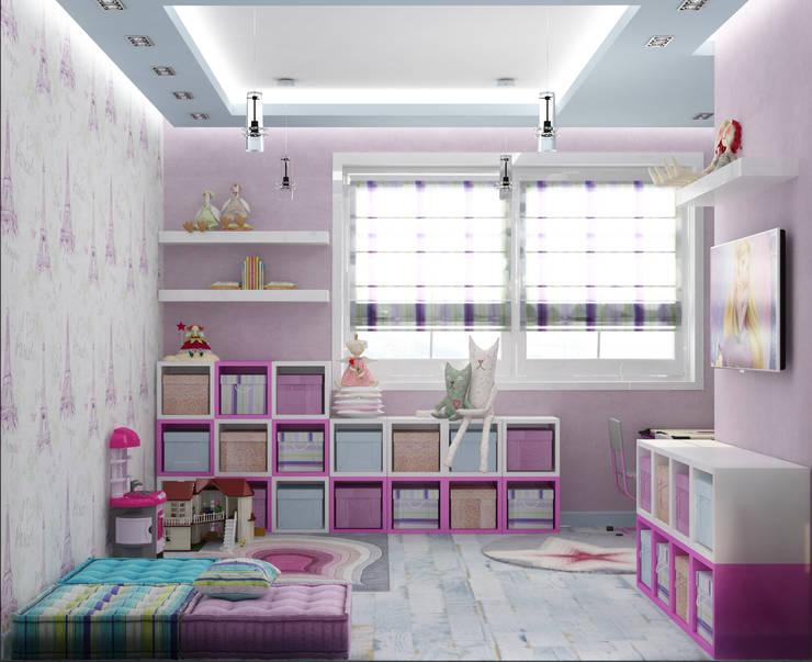 Dormitorios infantiles de estilo  por Eclectic DesignStudio