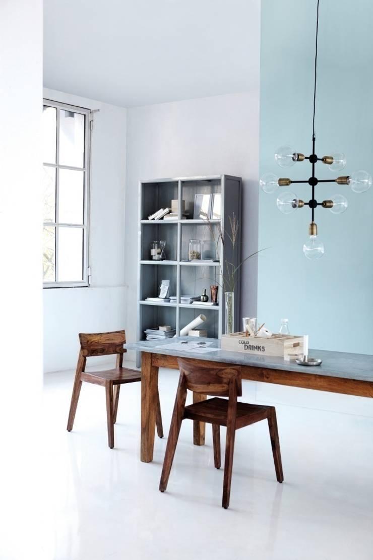 Lampa Molecular : styl , w kategorii Salon zaprojektowany przez Chwila Inspiracji,