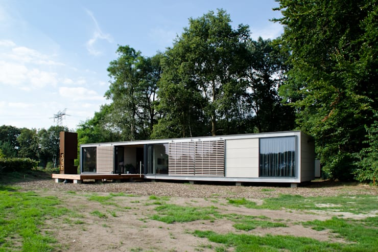 Houses by Dingemans Architectuur, Modern
