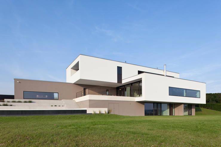 Projekty, nowoczesne Domy zaprojektowane przez Frohring Ablinger Architekten