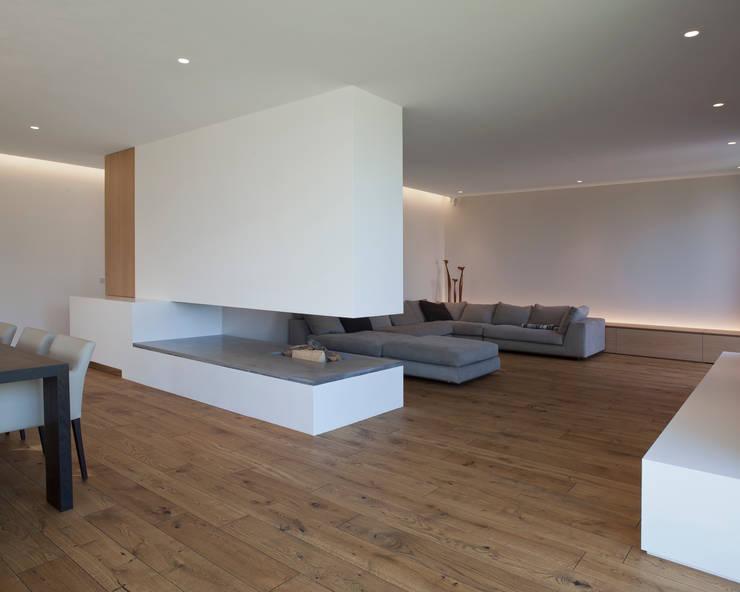 Projekty,  Salon zaprojektowane przez Frohring Ablinger Architekten