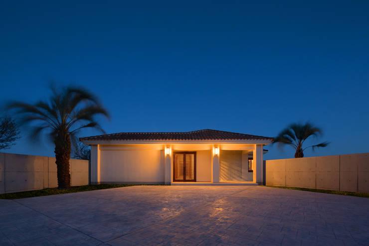 .: 小林建築設計事務所が手掛けた家です。,地中海