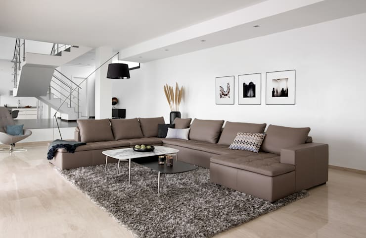 Mezzo : scandinavian Living room by BoConcept Bristol