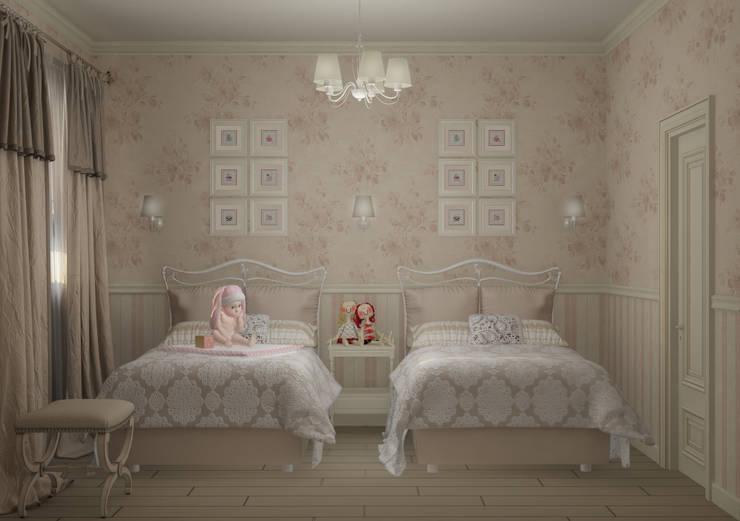 Stanza dei bambini in stile In stile Country di Eclectic DesignStudio