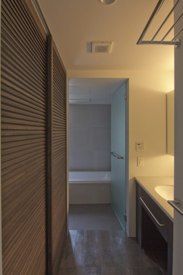 wedge: tentline(テントライン)が手掛けた浴室です。,