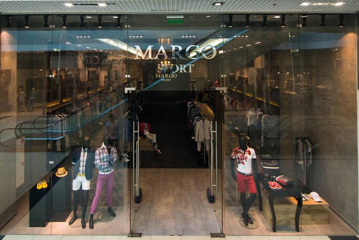бутик гСочи Моремолл <q>MARGO SPORT</q>: Стены в . Автор – Eclectic DesignStudio,