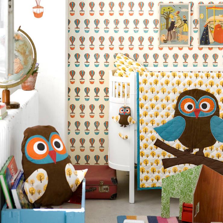 Jongenskamer Owls van Ferm Living:  Kinderkamer door De Kleine Generatie