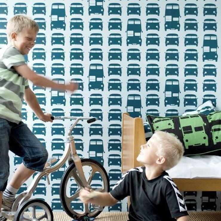 Behang Rush Hour van Ferm Living:  Kinderkamer door De Kleine Generatie