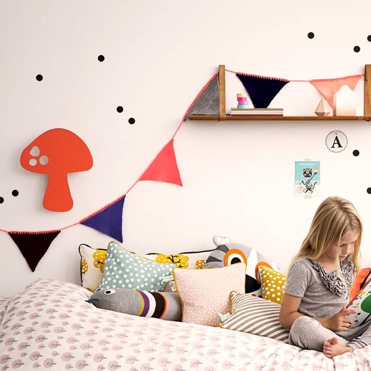 Hippe meidenkamer van Ferm Living:   door De Kleine Generatie, Scandinavisch