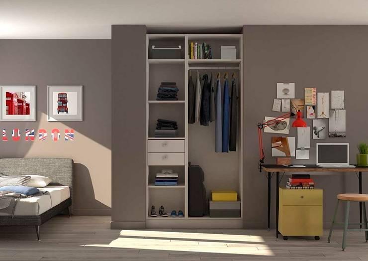 Placard-Dressing chambre d\'adolescent von Centimetre.com | homify