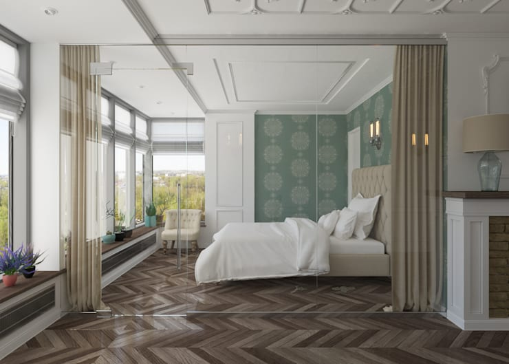 Спальня: Спальни в . Автор – 3D GROUP