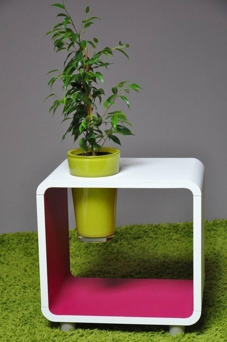 chevet cube végétal, the green touch ! par evo green design   homify