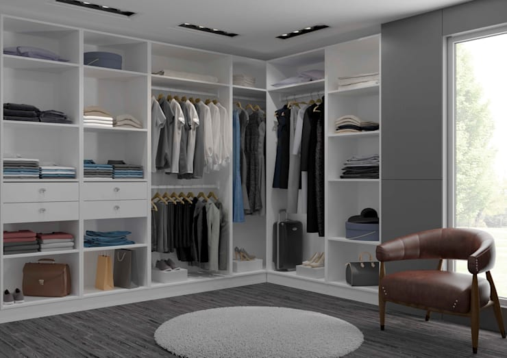 Dressing-Room - centimetre.com: Dressing de style de style Moderne par Centimetre.com