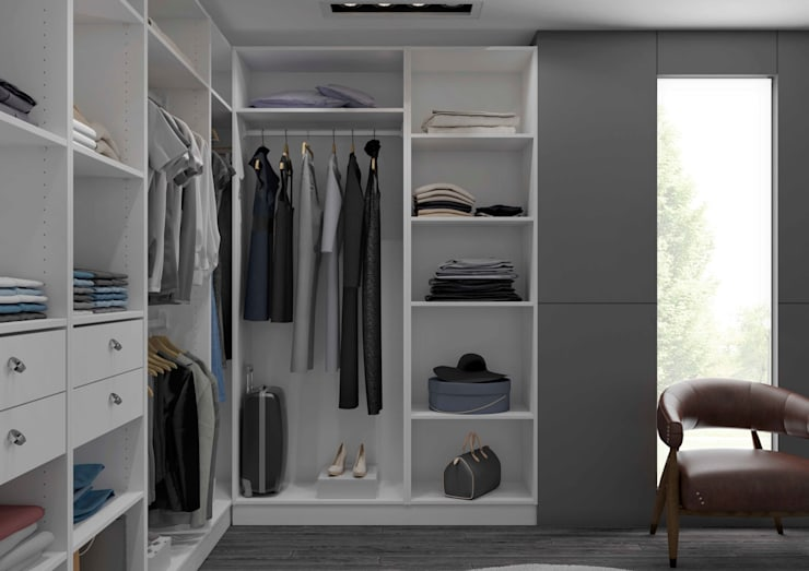 Ankleidezimmer von Centimetre.com