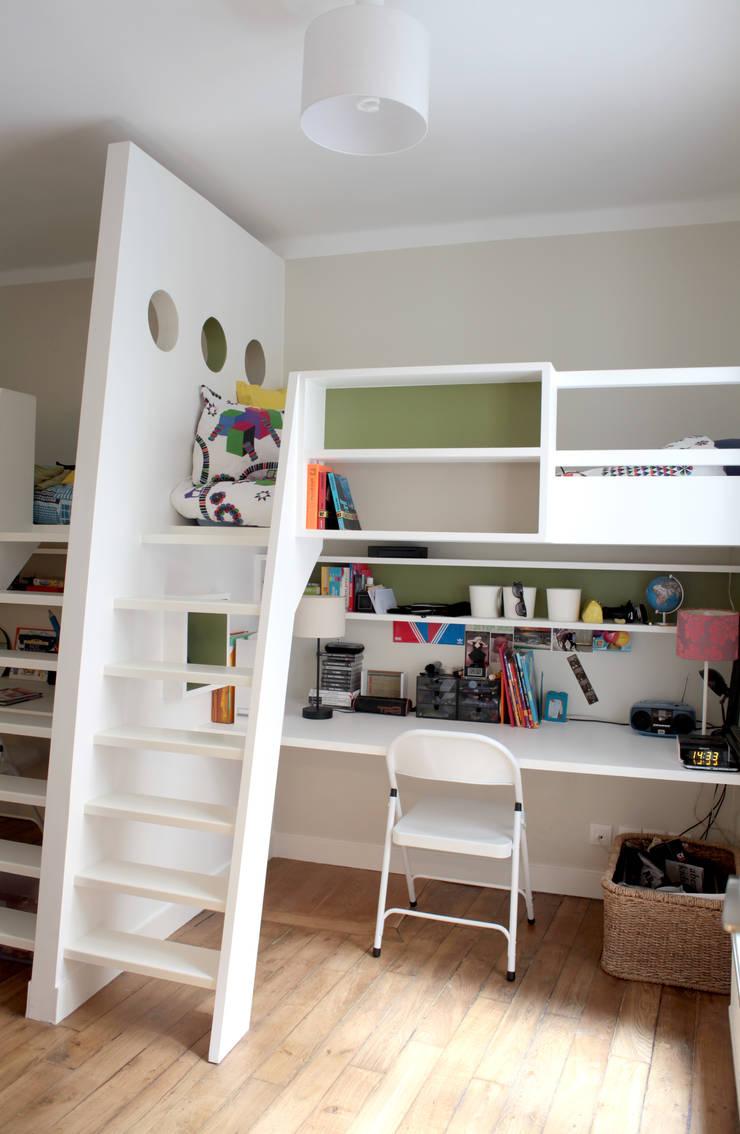 Nursery/kid's room by MadaM Architecture, Modern