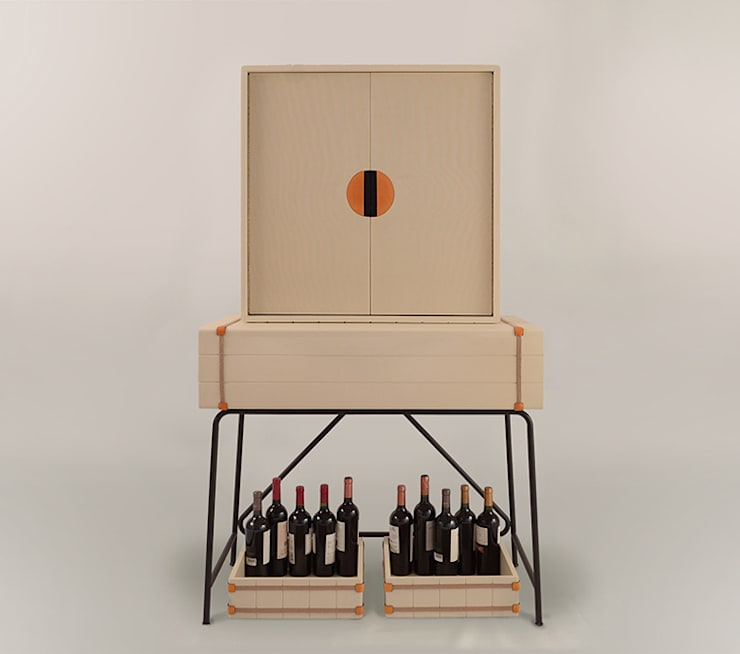 Mueble Bodega: Bodegas de estilo  por Eugenio Aguirre