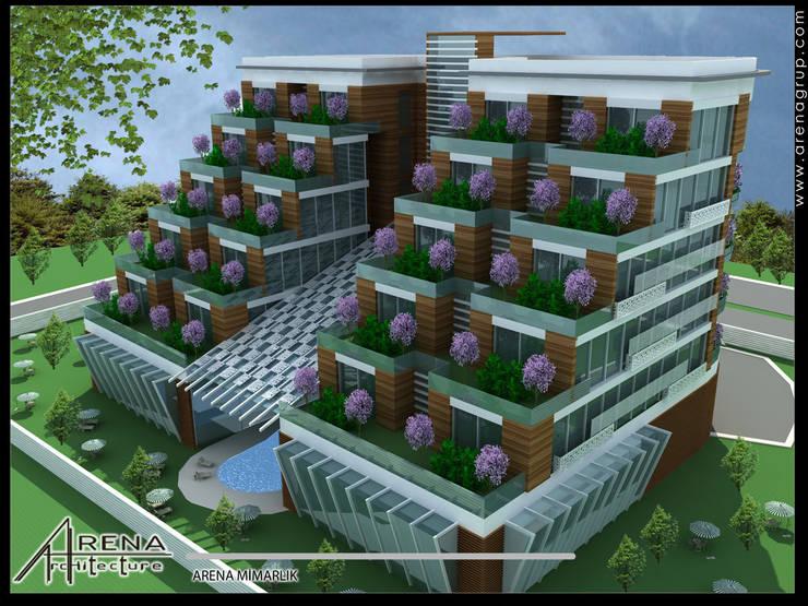 Maisons modernes par ARENA MİMARLIK Moderne