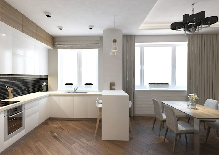 Eclectic style kitchen by tim-gabriel Eclectic