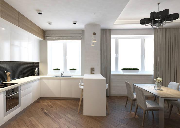 Cozinhas ecléticas por tim-gabriel Eclético