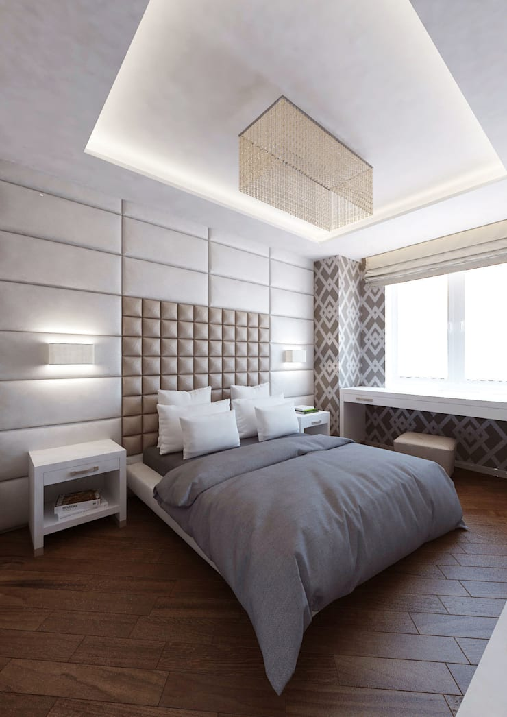 Eclectic style bedroom by tim-gabriel Eclectic