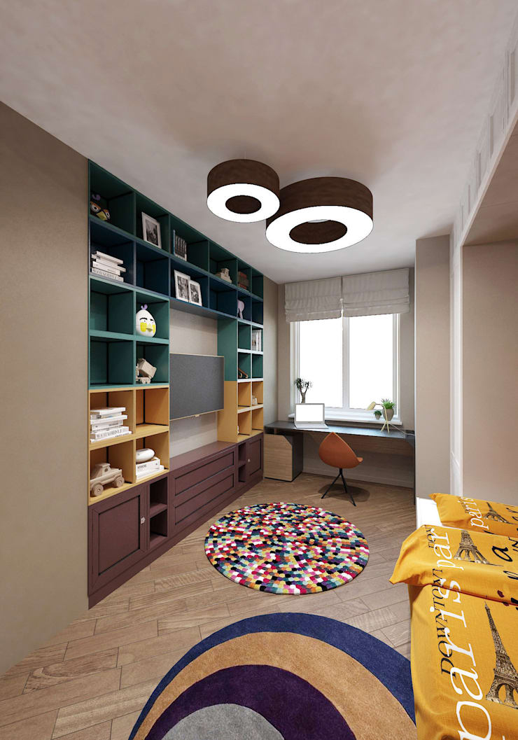 Eclectic style nursery/kids room by tim-gabriel Eclectic