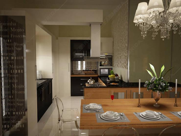 Fabbrica Mobilya – Özel Ev Tasarımı: modern tarz , Modern