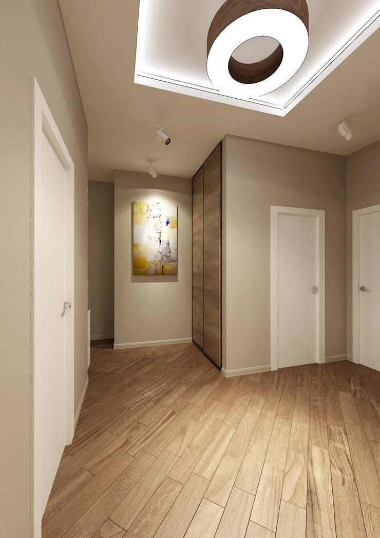 Corredores, halls e escadas ecléticos por tim-gabriel Eclético