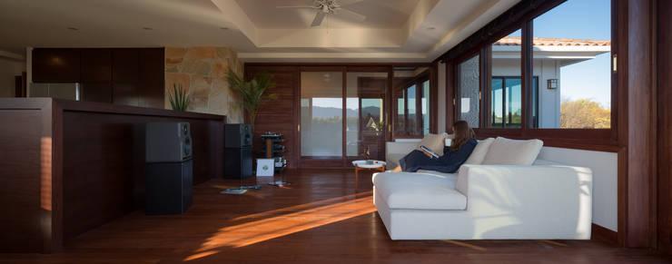 .: 小林建築設計事務所が手掛けた和室です。,地中海