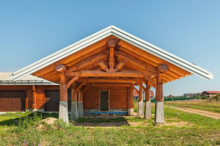 Smart Wood – норвежский дом: Дома в . Автор – Smart Wood