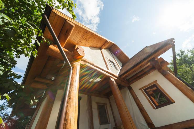 Smart Wood – post and beam: Дома в . Автор – Smart Wood, Рустикальный